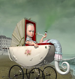 surreal illustrations by Ray Caesar