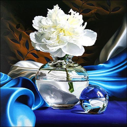 Hyperrealism Visual Arts: Chartier Francois, Hyperrealism, Hyperrealistic Paintings