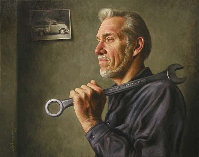 Alan Dingman art, realists paintings by Alan Dingman, american ...
