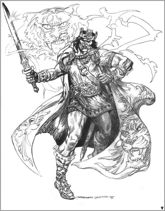 ilustraciones de Esteban Maroto