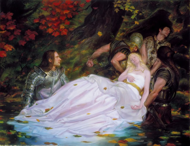 Illustrations by donato giancola for Best art websites for artists