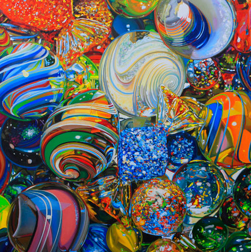 Hyperrealism Visual Arts: Olaf Schneider, Hyperrealism, Hyperrealistic Paintings