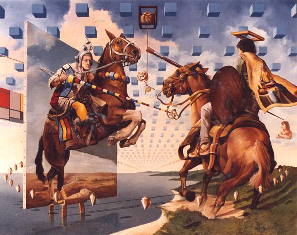 pinturas de Jose Roosevelt surrealismo