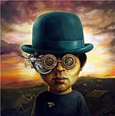 surrealists paintings by Jose Luis Serzo