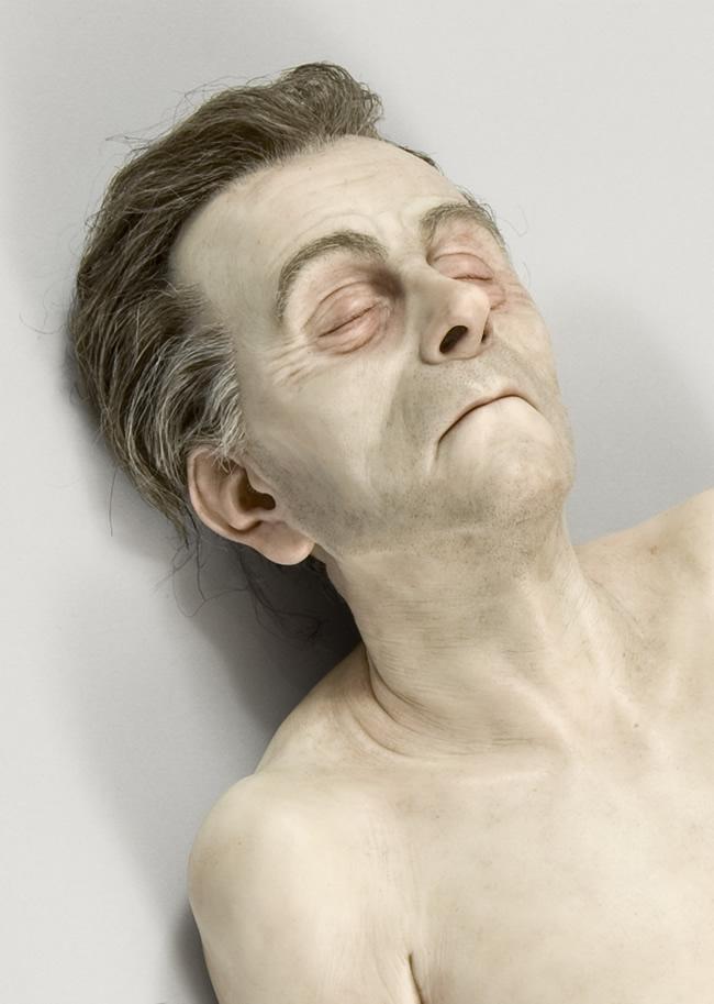 ron mueck hyper realists sculptures australian sculptor hyper