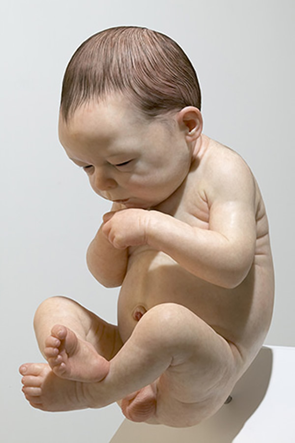 Sam Jinks hyper realists sculptures
