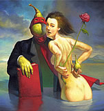 surrealists paintings by José Roosevelt