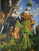 surrealists paintings by Patrick Woodroffe