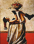 surrealists paintings by Saturno Butto
